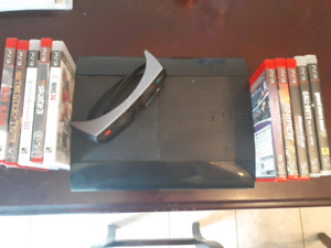 PS3, SONY 3D GLASSES, 15+ GAMES