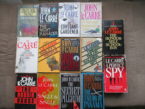 JOHN Le CARRE BOOKS