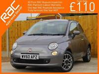 2010 Fiat 500 0.9 Twinair Sport 5 Speed Bluetooth Air Con Same Private Owner for