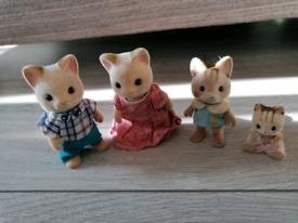 Sylvanian families Cat collection