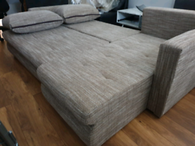 💢SALE Brand New Corner Sofa Bed with double storage *Delivery availab