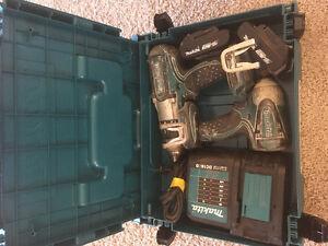 Makita 18v lxt drill/impact kit