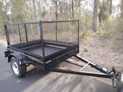Caged box trailer Hire Plumpton Blacktown Area Preview
