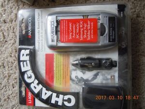 Universal Battrey charger for most Dig-Camera and Camcorder