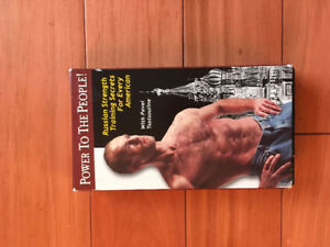 VHS Tape - Power to the People! STRENGTH TRAINING SECRETS
