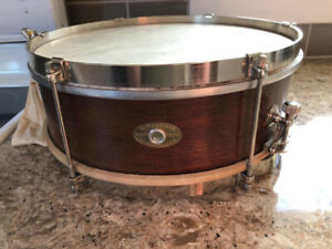 1955 - 1959 Slingerland 13 x 4 inch Piccolo 3 ply snare GC