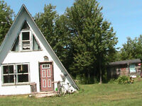 chalet cottage,camp  for sale