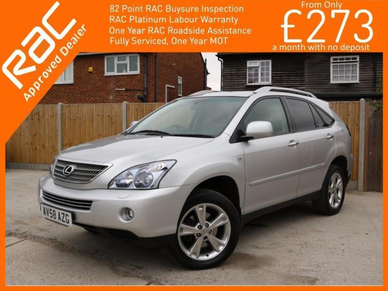 2008 lexus rx rx400h 3 3 hybrid sr auto 4x4 4wd sat nav rear cam bluetooth full in croydon. Black Bedroom Furniture Sets. Home Design Ideas