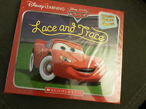 Disney Learning - Cars Lace And Trace