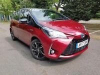 2017 Toyota Yaris 1.5 VVT-i Bi-Tone Red CVT 5dr