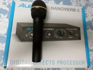 EV microphone N/D767a and a Alesis NanoVerb2 to trade