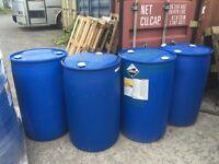 210 litre barrels