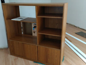 Storage Shelf with Cabinet for Sale