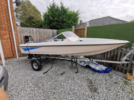 Fletcher 14ft speedboat