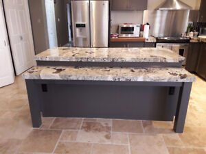 EXOTIC KITCHEN ISLAND GRANITE TOP