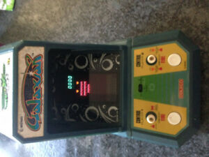 Vintage Coleco mini arcade game - Galaxian