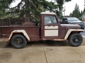 1960 Willys Jeep pick up
