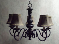 Elegant Oil-Rubbed Bronze 5-Light Chandeliers – From $50!