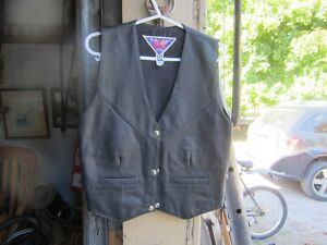 LEATHER BIKE JACKET & VEST