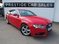 2015 Audi A4 2.0 TDI SE Technik Avant 5dr Diesel red Manual