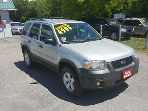 2006 Ford Escape XLT 4X4 *** CERTIFIED *** SALE PRICED $4495