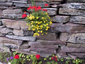 Natural landscaping rock......