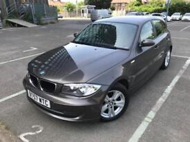 2007 (57) BMW 1 Series 2.0 118d SE 5dr Automatic 6 Months Warranty Included