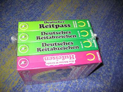 Hufeisen, Basis (Deutscher Reitpass inklusive Basispass + Hufeisen + Reitabzeichen 3 und 4 NEU)