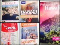 Guide de voyage Paris - Italie - Hawaii - Croatie