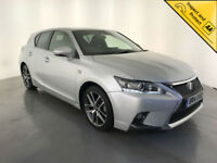 2014 LEXUS CT 200H F SPORT AUTOMATIC HYBRID 1 OWNER SERVICE HISTORY FINANCE PX