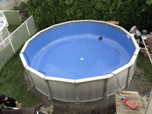 FREE 21 foot pool with PURCHASE of heater (salt system)