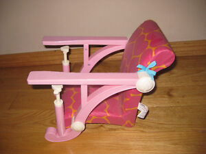 Our Generation/ American girl doll highchair Strathcona County Edmonton Area image 2