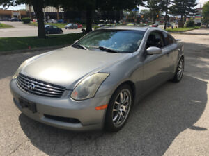2005 INFINITI G35 COUPE 6 SPEED MANUAL