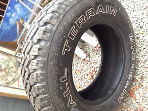 1 new tire   Michelin 215/75/15 M+S