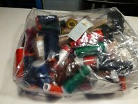 Bag of serger thread & various sewing items.
