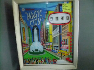 1967 williams magic city  pinball machine