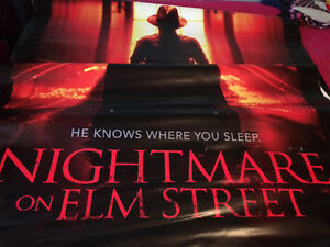 Freddy Kruger vinyl movie banner Stratford Kitchener Area image 7