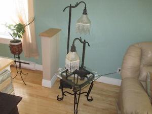 2 Lampes de salon ou chambre à coucher.