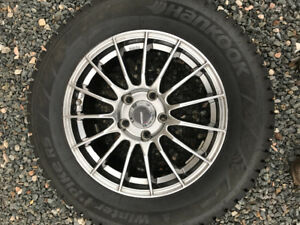 225/60R16 Hankook Winter Tires Studded