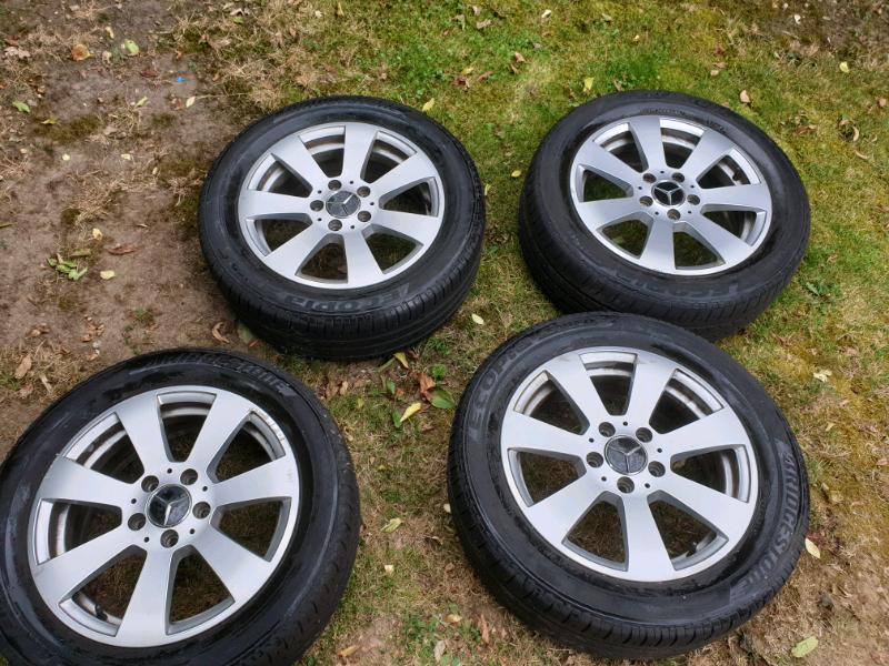 "Mercedes C Class w204 Set Of 4 Wheels 16"" Orygi | in Hemel Hempstead,  Hertfordshire | Gumtree"