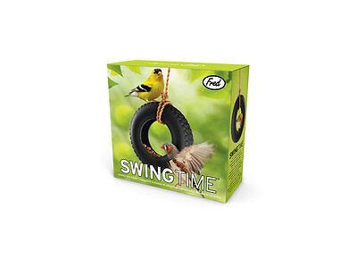 Fred & Friends SWING TIME Tire Swing Bird Feeder