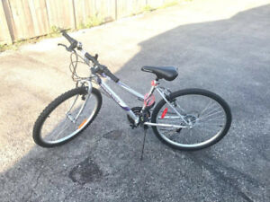 Supercycle 1800 bike. Only a month old, comes with bell and lock