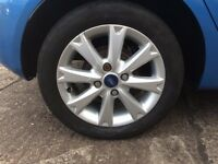 "Genuine 15"" Ford Fiesta alloy wheels"