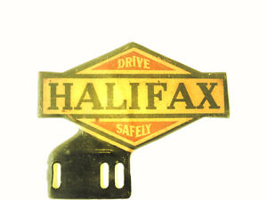 RARE IRVING OIL & GAS METAL HALIFAX, N.S. LICENCE PLATE TOPPER Moose Jaw Regina Area image 1
