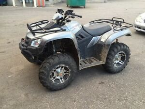 2012 kymco 450 Mxu le with complete snow Plow kit!! Must see...
