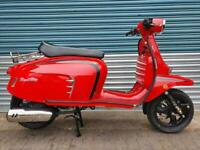 ROYAL ALLOY GT 125 N AC - GLOSS RED CLASSIC RETRO SCOOTER QUALITY GT125 GT125N