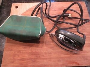 vintage Travella mini iron made in Germany
