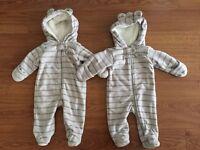 Double Layer Fleece Suits (Carter's)