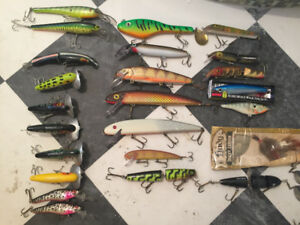 Musky / Muskie Lures $10 to $20 each