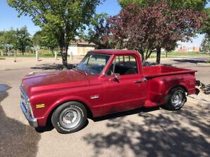1971 GMC short box step side